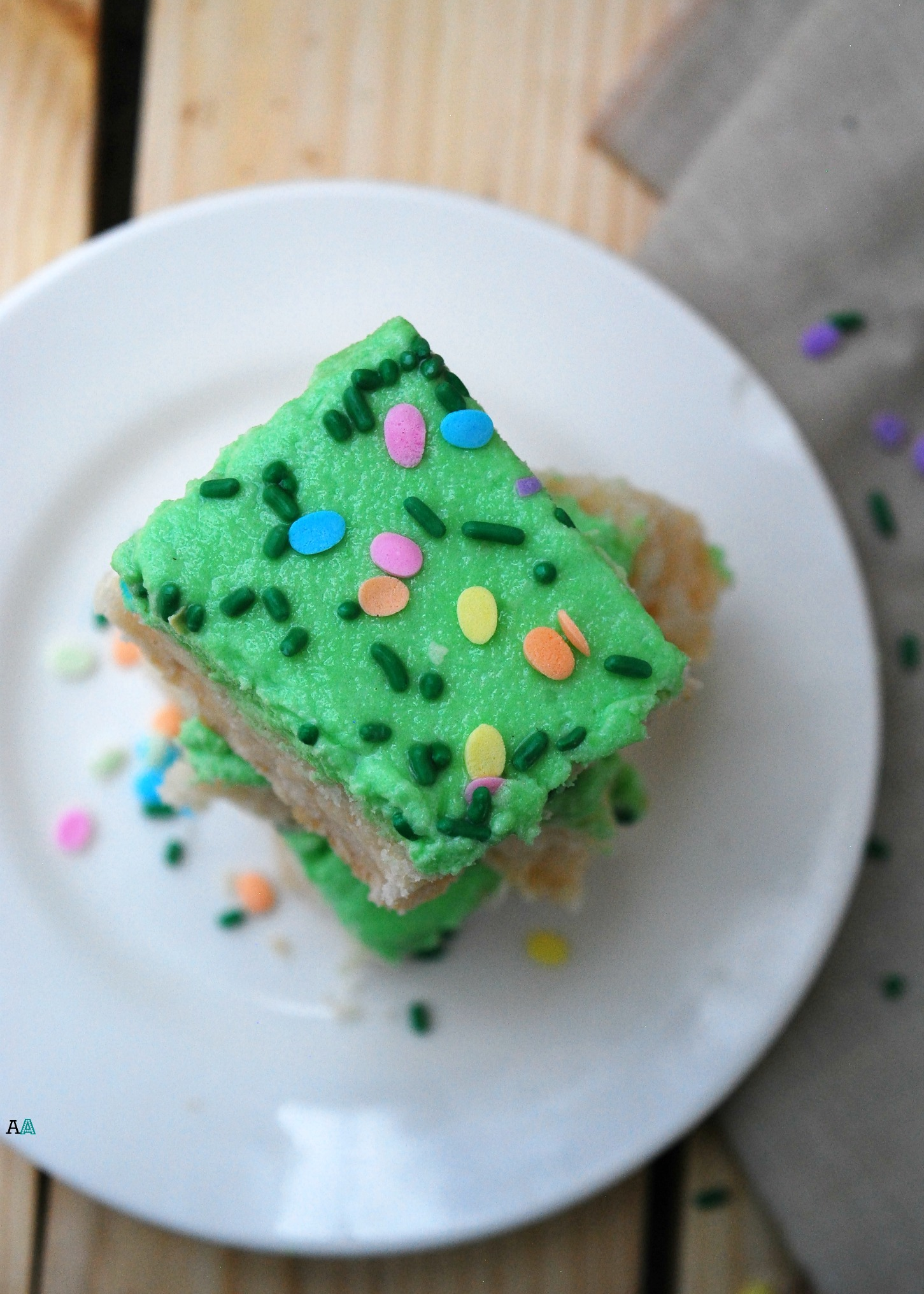 Sugar Cookie Bars With Buttercream Frosting Gf Df Egg Soy Peanut Tree Nut Free Top 8 Free