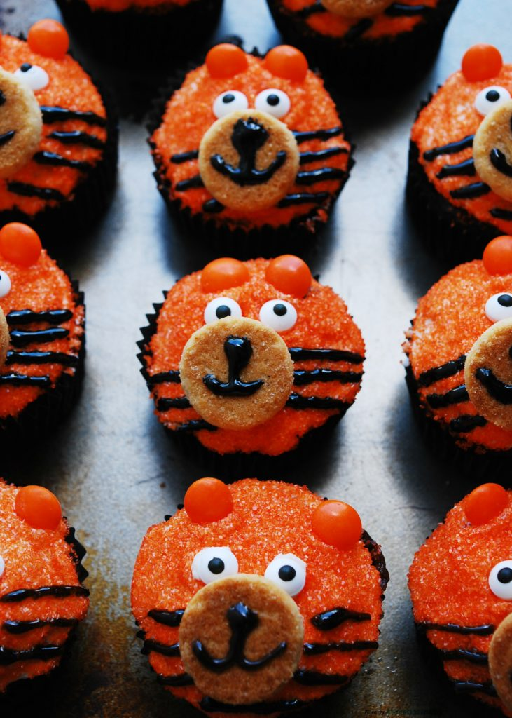 Allergy Friendly Tiger Birthday Cupcakes Allergy Awesomeness